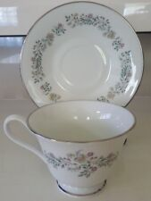 24 PIECE SET OXFORD BONE CHINA TENDERLY LENOX CHINA 12 CUPS AND 12 SAUCERS