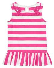 Gymboree Bright and Beachy Striped Ruffle Tunic White Size 8 10 MSRP $25 NWT
