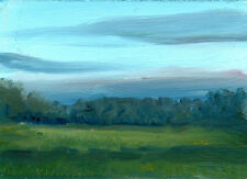 Ring of Kerry Ireland Morning  5x7 in.Original Oil  on panel Hall Groat Sr.