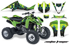 AMR Racing Suzuki LTZ 400 ATV Graphic Kit Wrap Quad Decals 2003-2008 ZOMBIE GRN