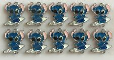 Lot Wholesale 10pcs Stitch Metal Charm Pendants Jewelry Making Craft Kids Gifts