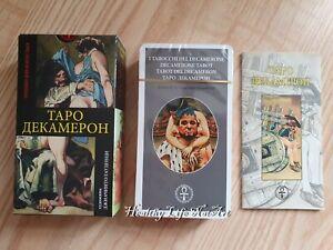 Tarot cards Decameron High Quality Таро Декамерон made in EU!18+