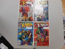 X-Men comic lot of 4! #'s230,235,237 and 240! VF8.0+ PLEASE READ DESCRIPTION.