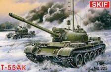 T-55 AK soviético/Pacto de Varsovia comando MBT 1/35 SKIF Raro