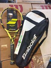 Babolat Pure Aero + (plus, 27.5 inch) 2019 Tennis Racquet 4 1/4 300G PRESTRUNG
