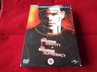 BOURNE IDENTITY/BOURNE SUPREMACY BOX SET DVD