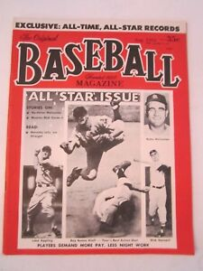 1955 DELL BASEBALL MAGAZINE - WILLIE MAYS ON FRONT COVER - BOX WW