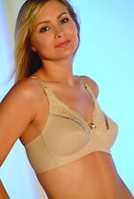 Royce Nude Jasmine Support/Mastectomy Pocketed Bra 34B