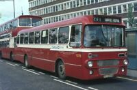 PHOTO Central Scottish Leyland Leopard T275 PFS554M in 1981 on route 201