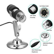 1000X Zoom 3in1 1080P HD USB Microscope Digital Magnifier Endoscope Video Camera