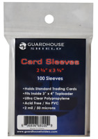 100 Guardhouse Soft Trading Penny Card Sleeves for TCG, bcw Baseball, Football
