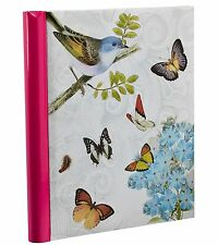 Vintage Butterfly Photo Album Spiral Bound Self Adhesive Album 40 Sides Arpan
