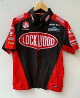 HOLDEN V8 SUPERCARS Lockwood Assa Abloy polyester mens short sleeve shirt size M
