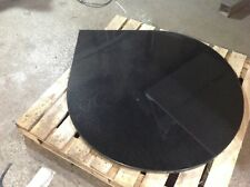 Teardrop granite marble slate fire hearth stove custom made to your size
