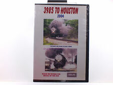 New Sealed RailRoad DVD - 3985 To Houston 2004 by Roger Holmes