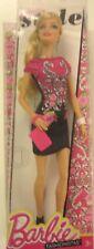 Barbie Fashionista Barbie Doll, Black and Pink Floral Dress  BLT09