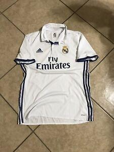 Real Madrid Ramos Ronaldo Era Player Issue Adizero  10 Shirt Football Jersey