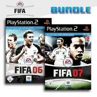PS2 / Sony Playstation 2 Spiel - FIFA 06 + FIFA 07 mit OVP