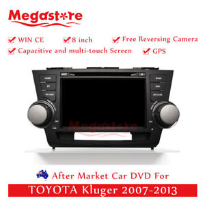 """8"""" Car DVD GPS Navigation Head Unit Stereo For TOYOTA Kluger 2007-2013 player"""