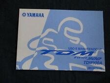 Uso e manutenzione YAMAHA TDM 900 a (2b0) nell'anno modello 2008