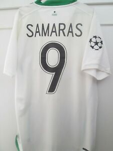 Celtic 2006-2007 Samaras 9 Away Football Shirt Size Large /44991