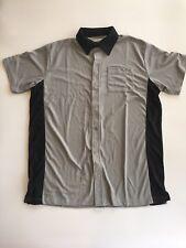 ZAXBY'S Chicken Fast Food Uniform Employee Collar Shirt Size Small Halloween L