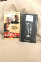 Amistad Drama VHS Movie Rated R 1998 Dreamworks Video