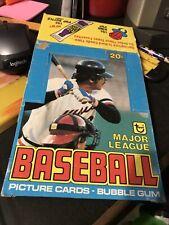 (1) 1979 Topps Baseball Empty Wax Box⚾️⚾️⚾️⚾️⚾️⚾️⚾️⚾️⚾️