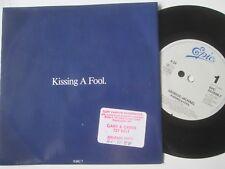 "George Michael – Kissing A Fool. EPIC 653049 7 Stickered UK Vinyl 7"" Single"