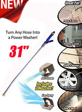 New High Pressure Power Washer Spray Nozzle Water Hose Wand Attachment Jet Deck