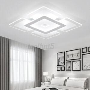 Moderno LED Soffitto Luce per Salotto Cena Camera da Letto Quadrato