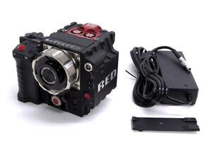 Red Epic Dragon 6K cinema camera mini-mag module, Ti PL mount, side handle, more