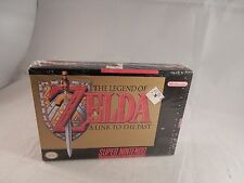 Legend of Zelda A Link to the Past (Super Nintendo SNES) NEW, SEALED 1st (#G038)