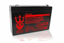 6V 12Ah SLA Sealed Lead Acid Battery, brand new 6 Volt 12AH