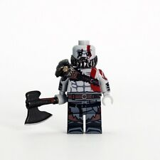 **NEW** OUTSIDE BRICK Custom God Of War 4 Kratos Lego Minifigure
