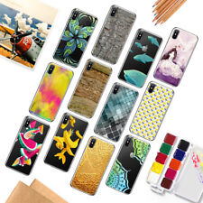 Patterned Soft Silicone TPU Back Case Cover Funda casa For iPhone 8 7 6 S Plus X