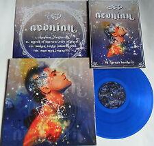 LP ETHEREAL RIFFIAN Aeonian - BLUE VINYL - NASONI NR 141 - 100 Copies + Book