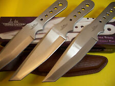 "Gil Hibben - 11.3"" Lg THROWING KNIVES - 3 pc. Pro Thrower SET - ""Tanto"" GH-5003"