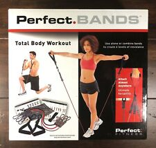3 Resistance Bands In Kit  W Handles Door Anchor W Workout Guide Perfect Fitness