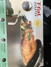 T-fal Hi-Dome Covered Roaster With Rack- Turkey Roaster