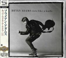 BRYAN ADAMS CUTS LIKE A KNIFE 2013 JAPAN SHM RMST CD+2  NEW/SEALED GIFT QUALITY!