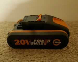 WORX 20v battery 2.0Ah Lithium Ion WORX powershare tools WA3551.1 genuine WORX