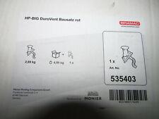 Braas Duro Vent HP-BIG Lüfter Bausatz Rot DN125 Art Nr.535403 Komplett (J789)