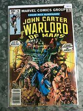 Marvel Comics Group 16 John Carter Warlord Of Mars - HGComic Book  B13-21