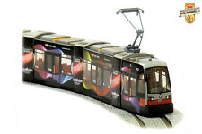 TRAM SIEMENS ELIN ESC ULF B1 - Tramway WL de Vienne Wien Eurovision - 1/87 HO LH