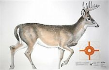"NRA Whitetail Deer Life-Size Game Targets (HF 07940), 60"" x 42"" (2 folded)"