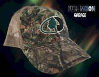 New Mossy Oak Camo Mesh Back Mens Snapback Trucker Cap Hat