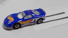 1994 Hot Wheels - '93 Camaro  - Mf Dk Blue, White Interior, Clear Windows, Bw