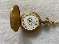 Swiss Made Pencron 17 Jewels Incabloc Mechanical Wind Up Vintage Pocket Watch