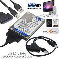 """Usb A Sata de 2,5 """"disco duro externo, Adaptador De Disco Hdd Ssd Plomo Cable Converter"""